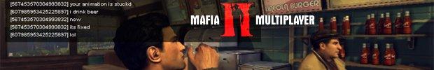 Мультиплеер Mafia II в прямом эфире!