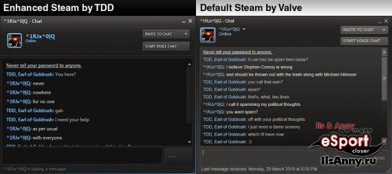 Фишки для нового интерфейса Steam