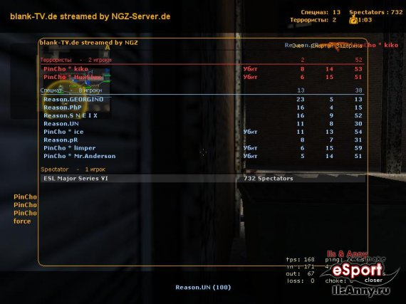 PinCho vs. Reason-Gaming