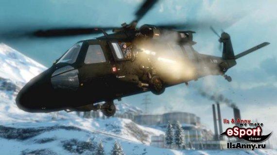 Туториал по управлению вертолетом в BFBC2