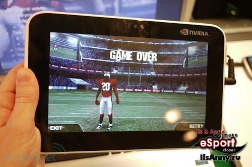 Игровой планшет от Nvidia