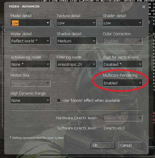 Некоторые моменты по новой Counter-Strike: Source