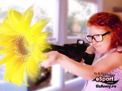 Цветочный боевик :)