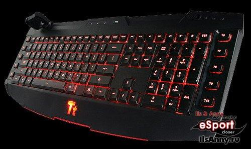Клавиатуры Challenger и Challenger Pro от компании Thermaltake