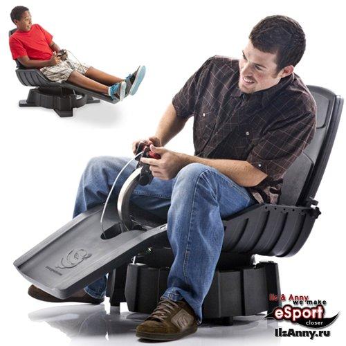 Кресло X-Dream Gyroxus – неповторимый опыт от игровых симуляторов